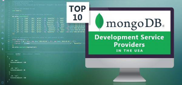 Top 10 MongoDB Development Service Providers in the USA